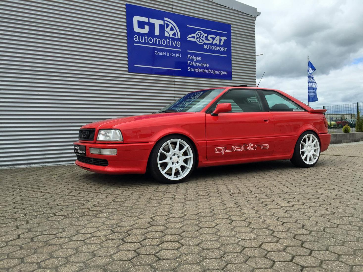 Sondereintragung Audi Coupe Quattro 89q
