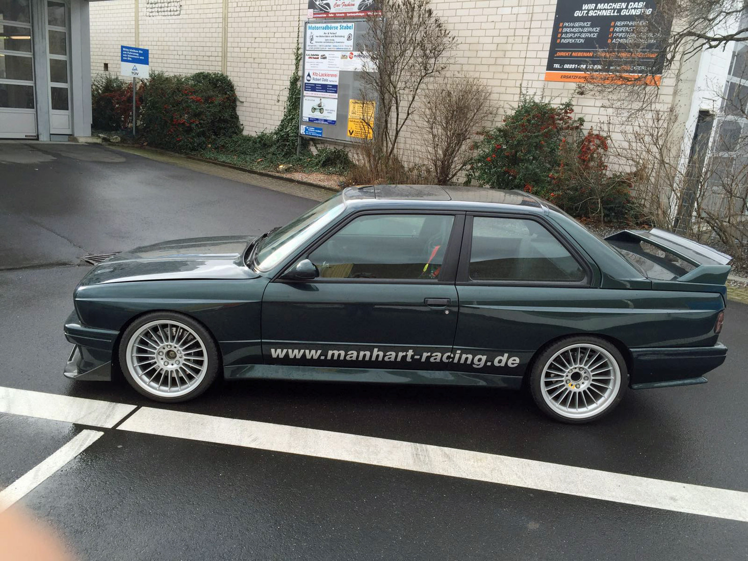 Einzelabnahme Bmw M3 E30 Mantec Racing M1 135 Turbo Motor Gt