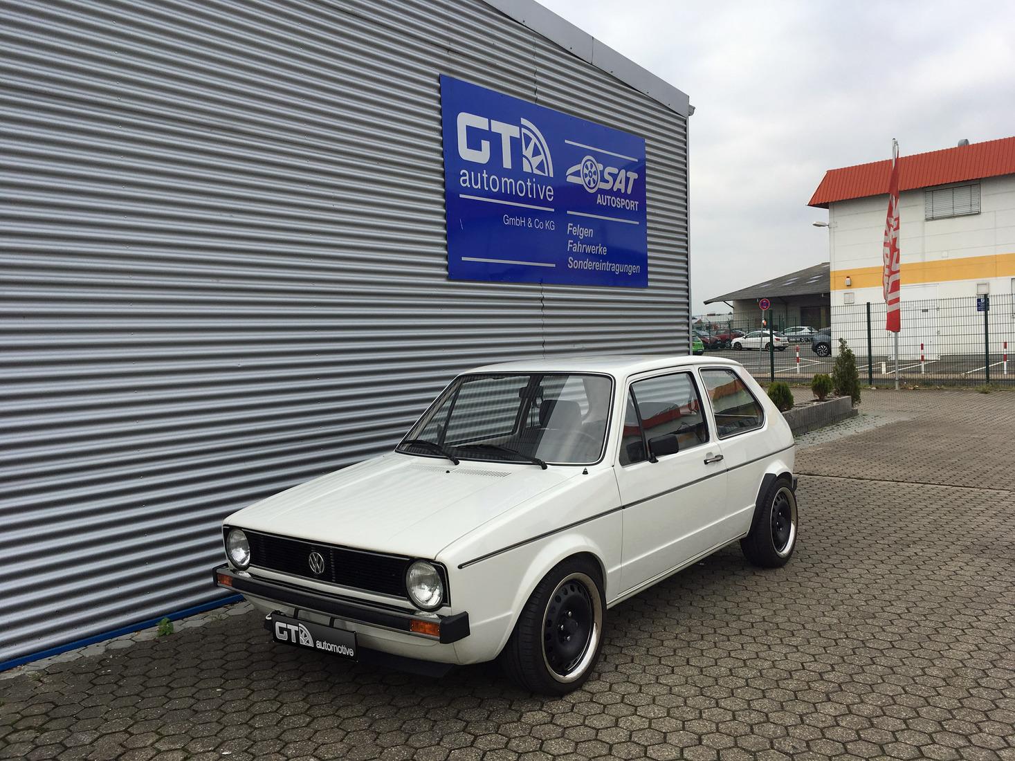 Sonderabnahme Vw Golf 1 Typ 17 Motorumbau Vr6 Turbo Auf 169kw Gt