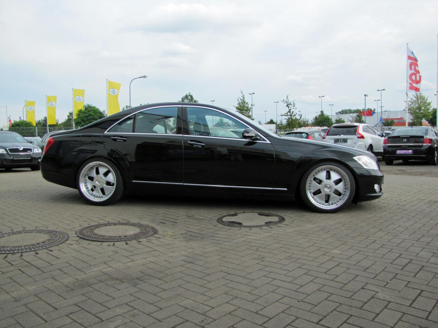 Sondereintragung Keskin Kt5 Felgen Mercedes S Klasse Sat